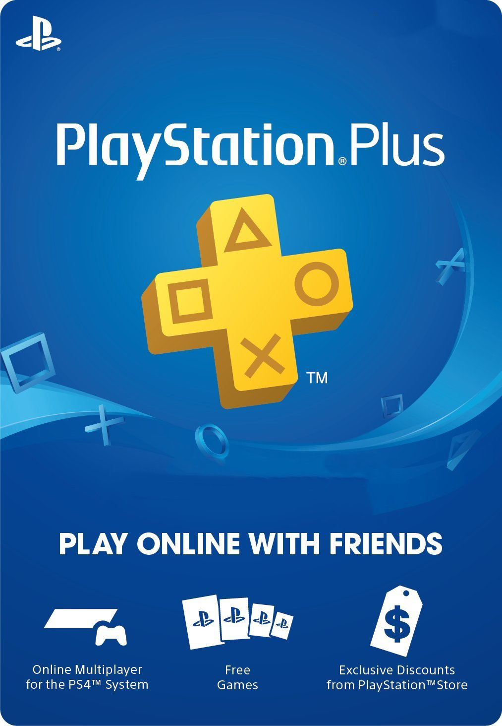 PlayStation Plus US card