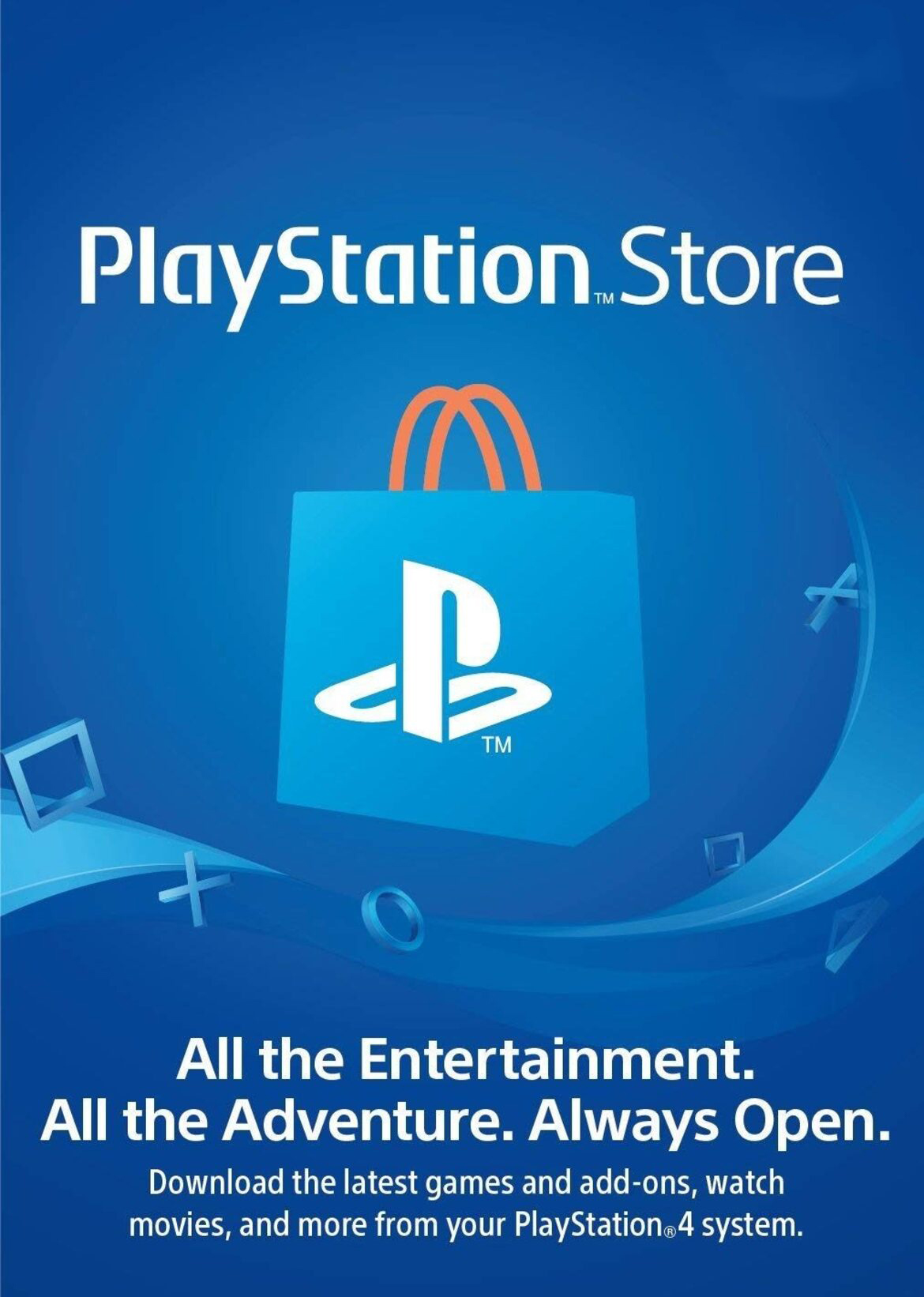 American PlayStation Network Gift Card